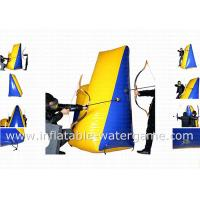 Wholesale Commercial Inflatable Paintball Bunker , Inflatable Paintball Obstacles Included Air Pump from china suppliers
