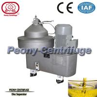 Wholesale Model PDSD Disc Type Centrifuge Separator Oil Water with Self cleaning Discharge from china suppliers