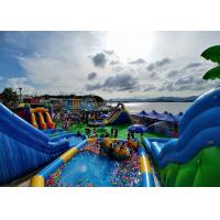 Wholesale Mobile Inflatable Amusement Water Park for Kids , New Design Beach Inflatable Park from china suppliers
