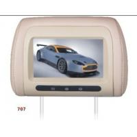 "Wholesale High Resolution 7"" Car Seat LCD Screen Advertising Display USB MPEG4 from china suppliers"