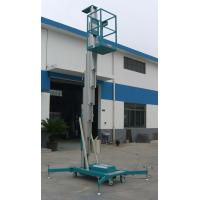 Wholesale Sole Mast Aluminum Aerial Work Platform 125Kg Load and 8 Meters from china suppliers