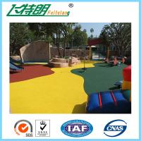 Wholesale Red Green Yellow Softable EPDM Rubber Granules Sports Flooring Mat Gym Floor Tile Durable from china suppliers