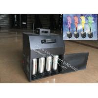 Wholesale Four Color Stage Fire Machine , 200W DMX512 stage flame Projector from china suppliers