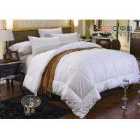 Wholesale 100% Cotton White Hotel Bedding Duvet Microfiber / Hollofiber / Down / Feather Filling from china suppliers