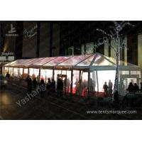 Wholesale Clear Top / Wall Cover Hard Aluminum Alloy Frame Wedding Tent Water Resistant from china suppliers