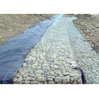 Wholesale Bridge Gabion Retaining Wall With Low Carbon Steel Wire , Gabion Basket from china suppliers