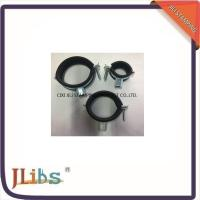 Wholesale Welding Rubber Lined Pipe Clamps One Screw Fixing With EPDM Rubber from china suppliers