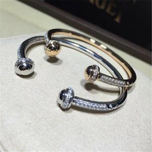 Wholesale Luxury jewe factory bracelet  gold diamond 18k gold  white gold yellow gold rose gold diamond bracelet from china suppliers