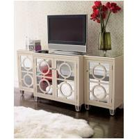 Buy cheap mirrored furniture circles mirror chest from wholesalers