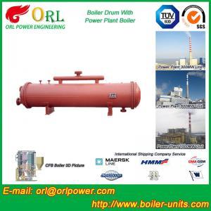 Anti shock gas hot water boiler mud drum ASME
