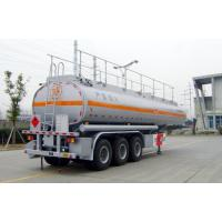 Wholesale 42000L-3 Axles-Carbon Steel Tanker Semi-Trailer for gasline and cyclopentane from china suppliers