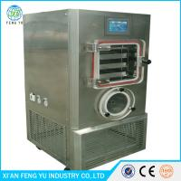 Wholesale factory price Medium-sized food fruit &vegrtable processing Lyophilizer vacuum freeze dried equipment from china suppliers