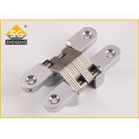 Wholesale Professional American Hinge / Invisible Zamak Concealed Hinges For Thick Doors 30mm from china suppliers