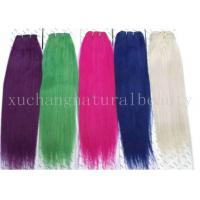 Wholesale Colored Straight Non Remy Human Hair  from china suppliers