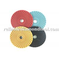 "Wholesale 5"" 6"" Granite Diamond Polishing Pads Floor Velcro Backing With Round Nut from china suppliers"