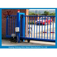 Wholesale Various Size Residential Sliding Gates , Industrial Sliding Gates Safety from china suppliers