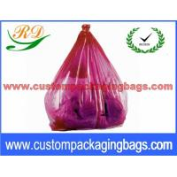 Wholesale Colorful Collapsible Plastic Laundry Bags , Water Soluble Hotel Laundry Bags from china suppliers