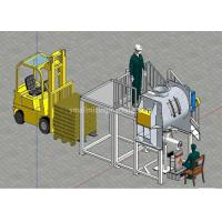 Buy cheap Large Stainless Steel Ribbon Mixing Machine With Operating Platform from wholesalers