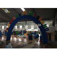 Wholesale Custom Blue Oxford Durable Inflatable Arches for Event or Games Entrance from china suppliers