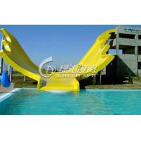Wholesale Commercial Large U Waving Water Slide / Surf n Slide Water Park for Adults and Kids from china suppliers
