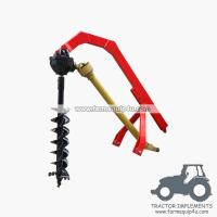 Wholesale tractor 3point hitch post hole digger with different sizes Augers available from china suppliers