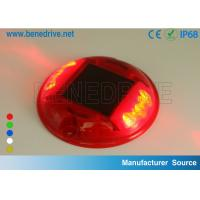 Wholesale Round Plastic Barricade Lights, For Traffic Safety Using Sustainable Solar Energy Strong PC Shell from china suppliers