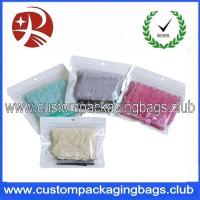 Wholesale Non - toxic Apparel Garment Anti Static Ziplock Bags Custom Design Packaging from china suppliers