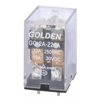 Wholesale Golden Relay GQ SME JQX-13F General Purpose Relay 0.6-0.8W 5-48VDC from china suppliers