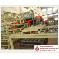 Quality Sandwich Panel Construction Material Making Machinery 1.5m * 18m Outline for sale