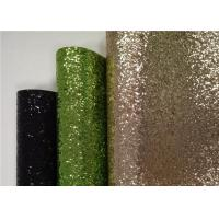 Wholesale Living Room 50m Multi Color Glitter Fabric With Flocking Cloth Backing from china suppliers