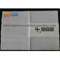 Wholesale One Layer White Linen Like Paper Napkins , Fancy Paper Dinner Napkins from china suppliers