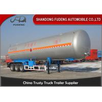 Wholesale 30 Tons LNG / LPG Tank Trailer For Flammable Liquid Transport  Fuwa / BPW Axle from china suppliers
