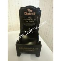 Wholesale ST GERMAIN LIQUEUR WOOD BOTTLE GLORIFIER DISPLAY STAND from china suppliers