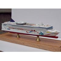 Wholesale Norwegian Dawn Cruise Ship 3d Model Ivory White Color , Carbon Fibre Hull Material from china suppliers