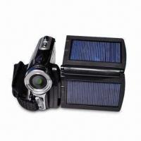 Wholesale 12-megapixel Digital Video Camera with 2.8-inch LCD Display, Dual Solar Panel and Li-ion Battery from china suppliers
