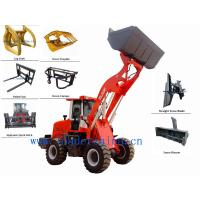 Wholesale 2.0t small front loader with pallet fork from china suppliers