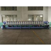 Buy cheap Computerized Operation Flat Embroidery Machine 18 Heads 9 Colors from wholesalers