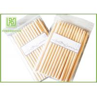 Wholesale Two Points Natural Wood Sticks Wooden Dowels For Crafts With Chamfer Angles from china suppliers