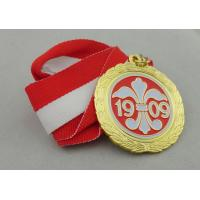 Wholesale Iron / Brass / Copper Soft Ribbon Medals with Die Struck, Stamped, Die Cast from china suppliers