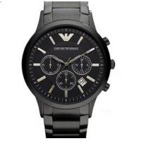 Wholesale Emporio Armani AR2453 Classic All Black Ion-Plated Men's SS Bracelet Watch from china suppliers