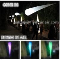 Wholesale C-13 2m Oxford Party And Wedding Decoration Inflatable Light Cone from china suppliers