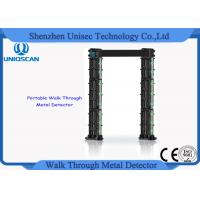 Quality UM700 body scanner commercial metal detector Walk through 24 detecting zones for sale