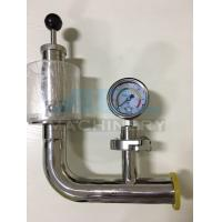 Wholesale Stainless Steel Spring Pressure Relief Valve for Tank  Relief Valve with Manometer for Fermentation Tank from china suppliers