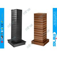 Buy cheap 4 Sided Spinner Clothing Slatwall Display Shelves Gondola Racks from wholesalers