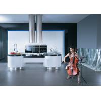 Wholesale Simple Modern Design Kitchen Cabinets Lacquer Finish With Artificial Stone Top from china suppliers