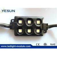Wholesale High Lumen 5050 SMD 6 LED Module 12V for Led Lightings Advertising Panel CE / ROHS from china suppliers