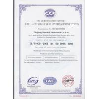Zhejiang Wisely Machinery Co., Ltd. Certifications