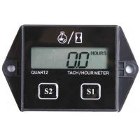 Wholesale Large 5 digital LCD gasoline engine inductive motorcycles waterproof tach / hour meter from china suppliers