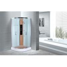 Buy cheap Comfort Waterproof Curved Corner Shower Enclosure Kits Free Standing Type from wholesalers
