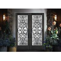 Wholesale Galvanized Steel Remarkable Inlaid Door Glass For Building Hand Forged from china suppliers